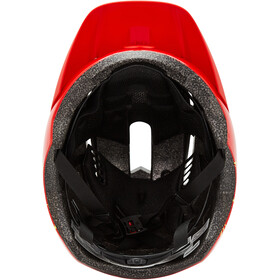 Bell Sidetrack II Helm Jugend red bolts